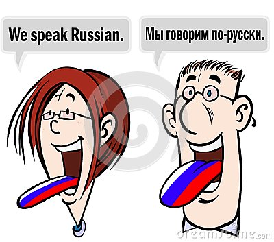 speaking russian