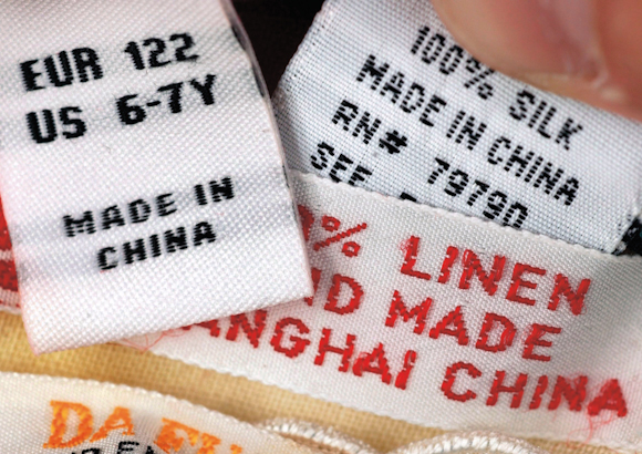 made in china tags