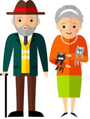 Old-couple-icon