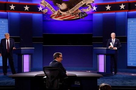 USA ELECTION DEBATE 1