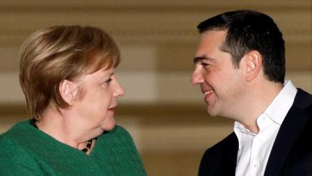 greece germany merkel