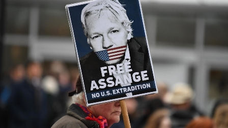 london Julian assange