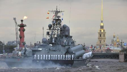 russia navy day parade