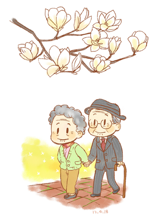 old couple by twosugars